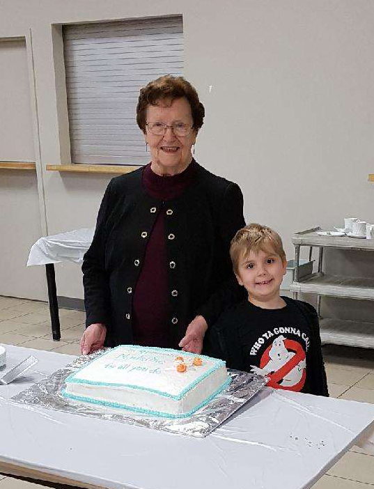Grandma & Jamie 1